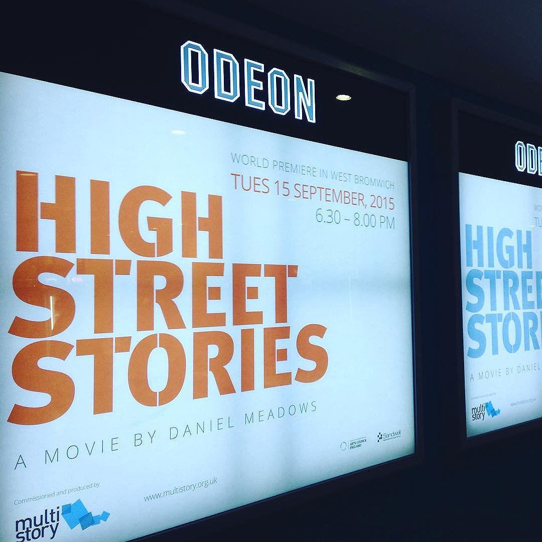 Tonight we are screening @Odeonwestbrom