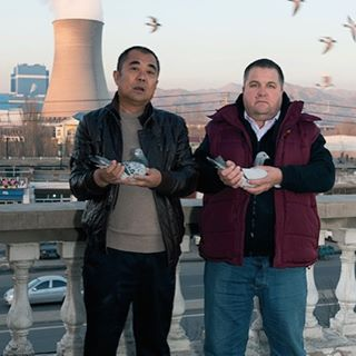 First local screening of the year is #martinparr's documentary film 'Mark Goes to Mongolia' (2012), commissioned as part of   It tells the extraordinary story of Mark Evans - pigeon auctioneer, breeder and entrepreneur - based in Moxley in the Black Country.   Thursday 14 Jan 2016, 2.30-3.30pm Library, DY4 8QL Free entry  Photo credit: Martin Parr/ Magnum Photos