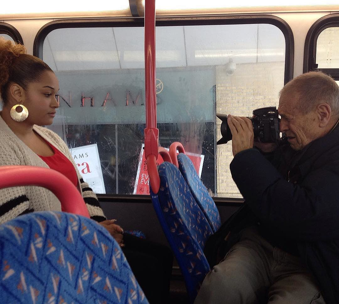 Photographer on photo shoot in in 2014 for @multistory commission   The resulting images will be exhibited in 2016.