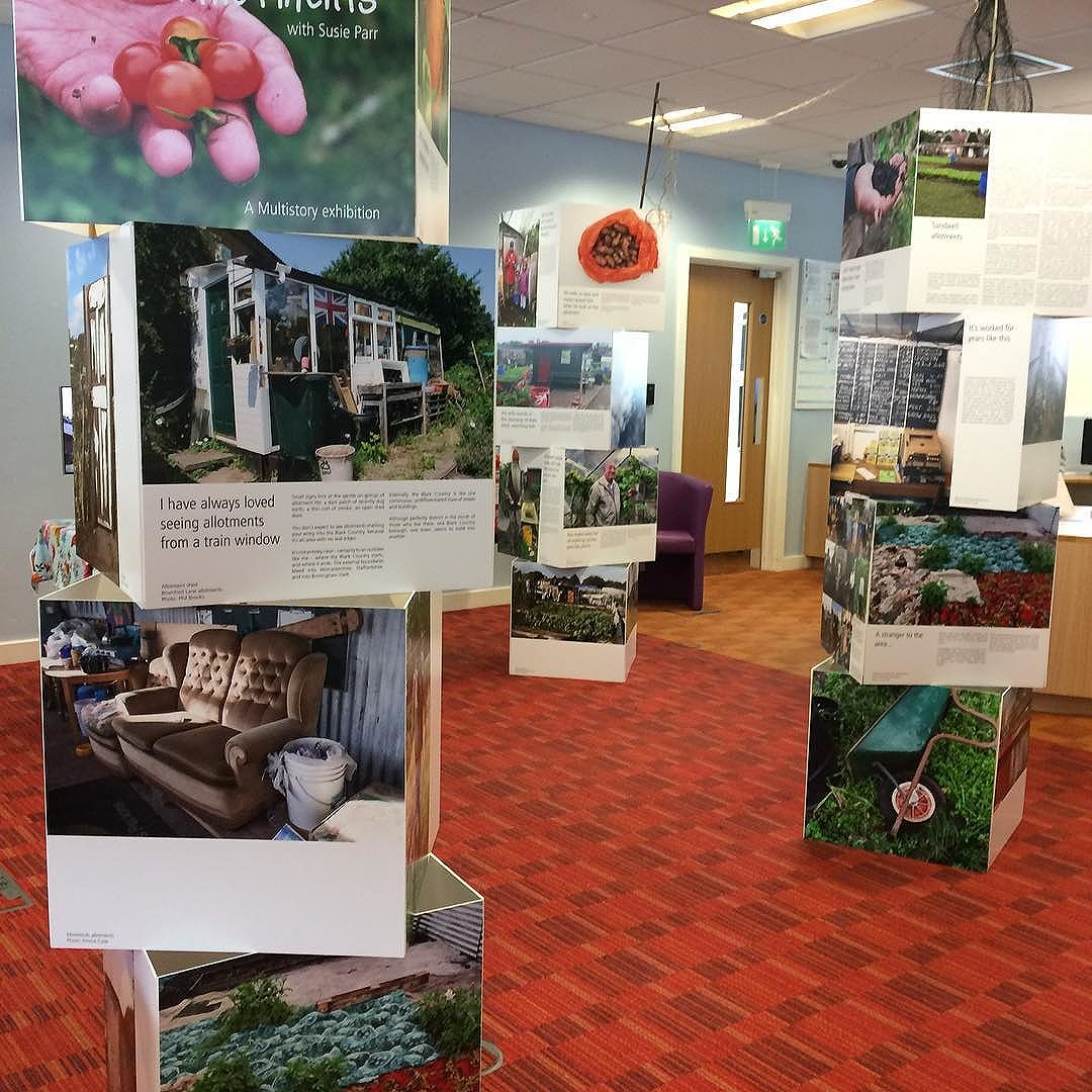 Black Country Allotments at Blackheath library with Susie Parr